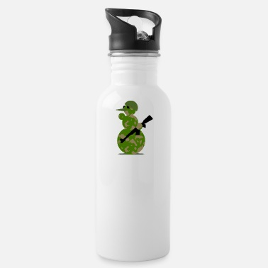 Military MILITARY SNOWMAN - Water Bottle