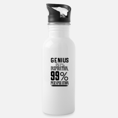 Hustle Genius is 1 inspiratie - Drinkfles