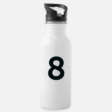 Number Sport Number 8 Eight - Water Bottle