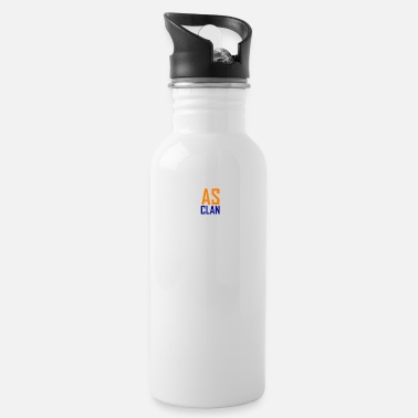 Clan AS Clan Logo - Writing Style - Water Bottle