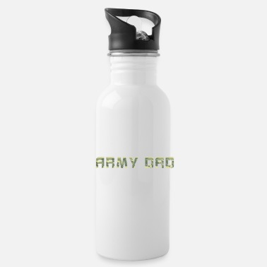 Ehemann Proud Army Dad USA USA American Flag Fat - Trinkflasche