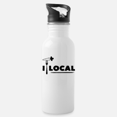 Local Eat Local - Water Bottle