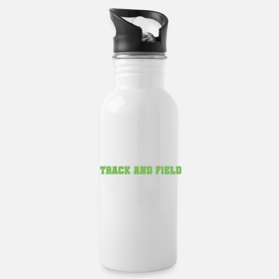 Sports Mugs & Drinkware - Track and field - Water Bottle white