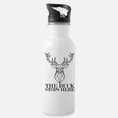 Deer Hunter Deer Hunter The Buck Stops Here Deer Hunting - Water Bottle