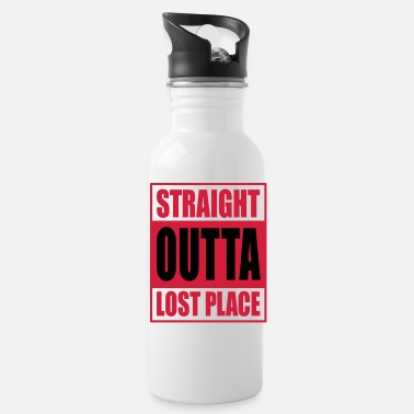 Lost Place Straight Outta Lost Place - Drinkfles