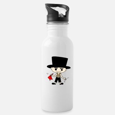Cylinder man with cylinder - Water Bottle