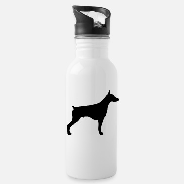 Doberman doberman - Water Bottle