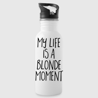 Blonde Moment Funny Quote - Juomapullot