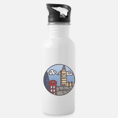 Illustration London Illustration - Icon - Trinkflasche
