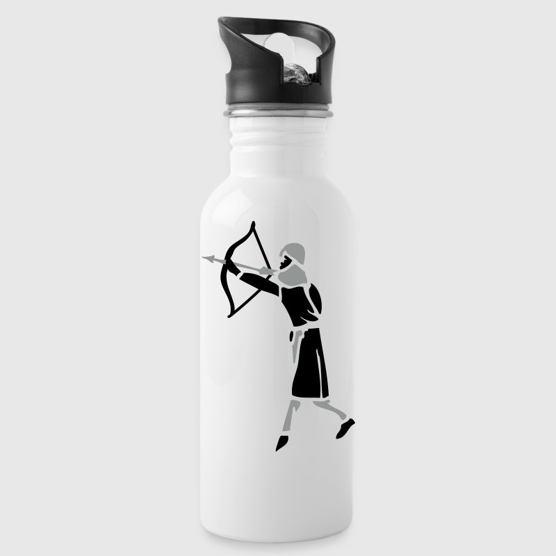 Archer Medieval Icon patjila design - Water Bottle