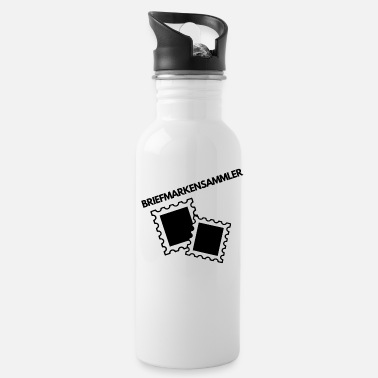Stamp Collecting Stamp Collector Collector Stamp Collection Stamp - Water Bottle
