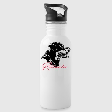 Rottweiler rottweiler - Water Bottle