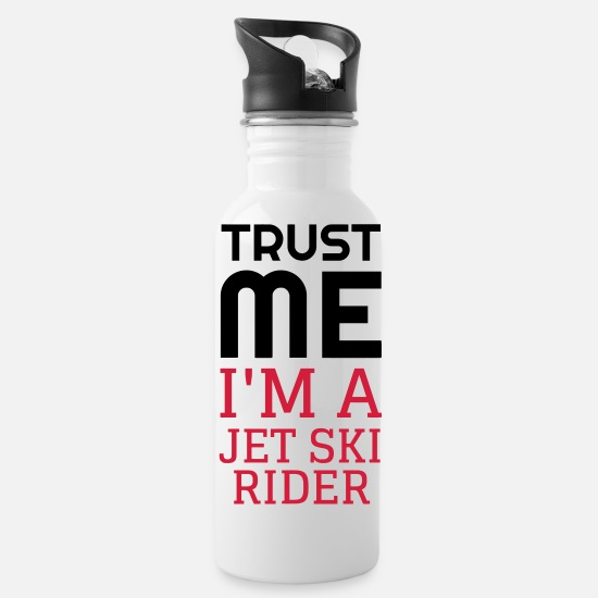 Water Mugs & Drinkware - Jetski - Water Scooter - Jet ski - Sport - Beach - Water Bottle white