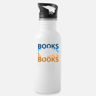 Book Books book - Water Bottle