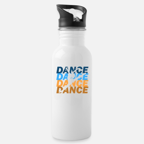 Dancer Mugs & Drinkware - ballet - Water Bottle white