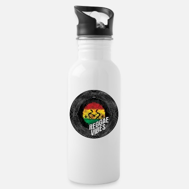 Dub reggae vibes dance - Water Bottle