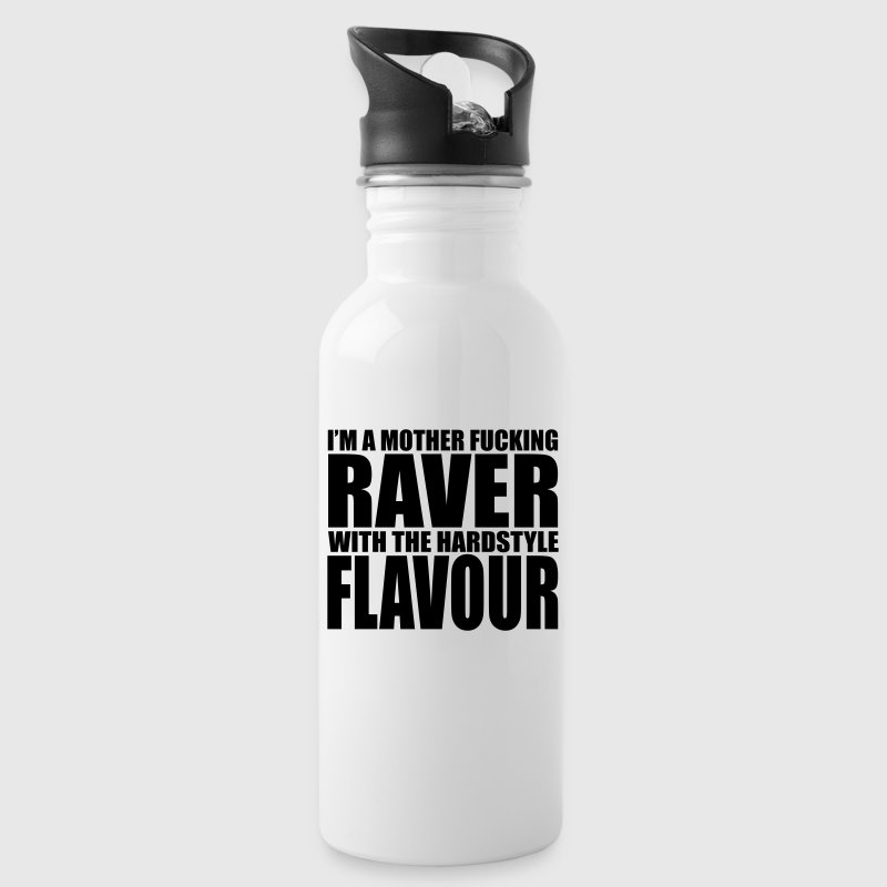 Mother F*cking Raver EDM Quote - Trinkflasche