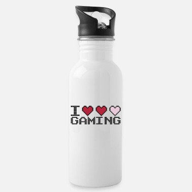 I Heart I Heart Gaming Quote - Gourde