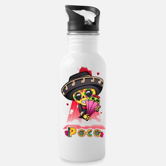 Brawl Mugs & Drinkware - Little bit - Water Bottle white