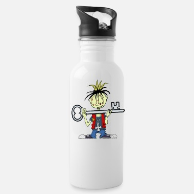 Addiction Recovery Keys to the kingdom - Water Bottle