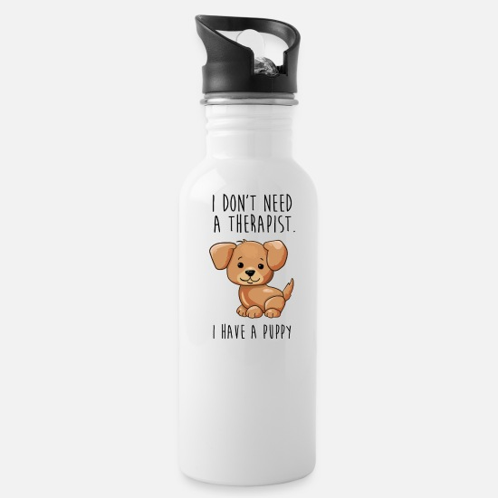 Quotes Mugs & Drinkware - QUOTES - Water Bottle white