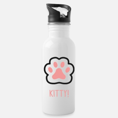 Paw Cats Paw Paws Kitten Paw paws - Water Bottle