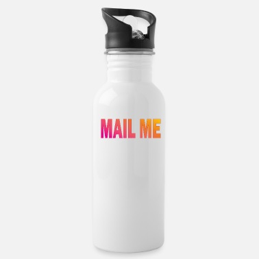 Typography Mail Me Design Typography - Drinkfles