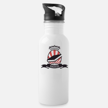Education Culture Student Education Knowledge Cool gift - Water Bottle