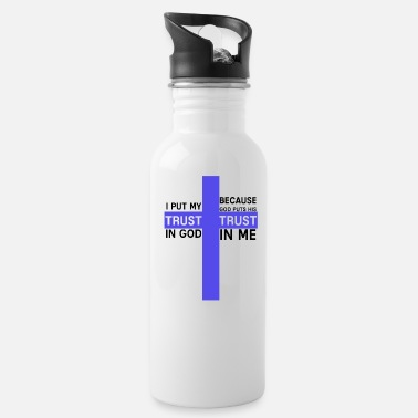God God - Water Bottle