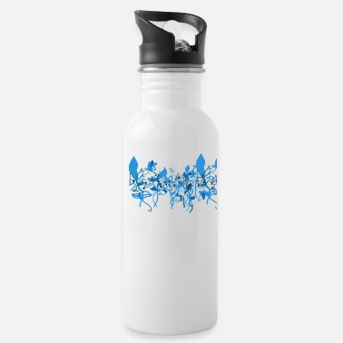Baroque Flowers in the Baroque - Water Bottle