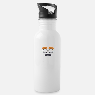 Funny mask - Water Bottle