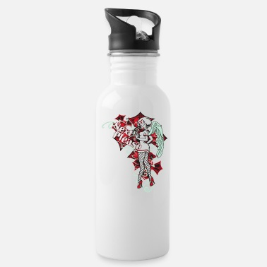 Pinup Next Please Pin Up Lady Nurse Angel - Water Bottle