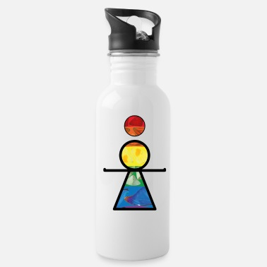 Om Yogi OM Shanti Angel - Water Bottle