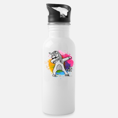Kids Dabbing unicorn, unicorn, unicorns with colors - Water Bottle