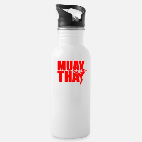 Boxing Gloves Mugs & Drinkware - martial Arts - Water Bottle white