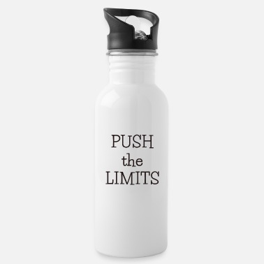 Push The push the limits - Trinkflasche
