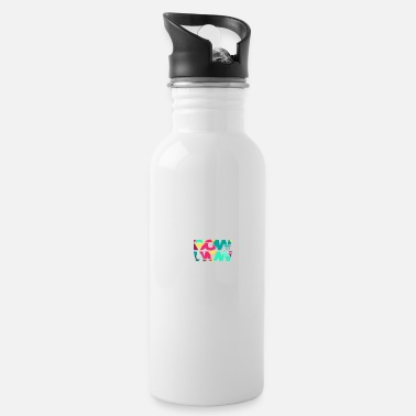 Bow Wow Bow wow, gift, gift idea - Water Bottle