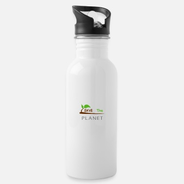 Planet save the planet - Trinkflasche