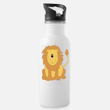Cartoon Cartoon lion - Juomapullo