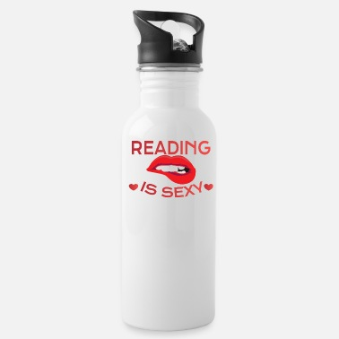 Read READING: Reading Is Sexy - Water Bottle