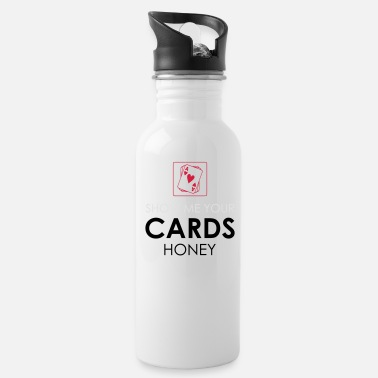 Holdem Poker Cards Card Game Texas Holdem Gift - Water Bottle
