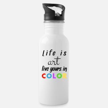 Colour Coloured - Water Bottle
