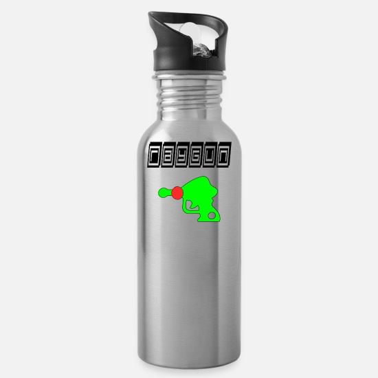 Game Mugs & Drinkware - ray gun - Water Bottle silver