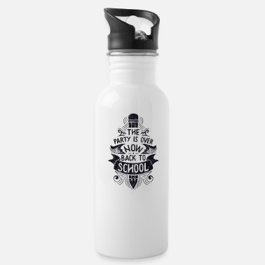 Back To School - Water Bottle