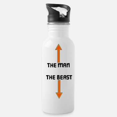 The Man the man the beast - Water Bottle