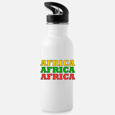 Africa Africa Africa Africa - Water Bottle