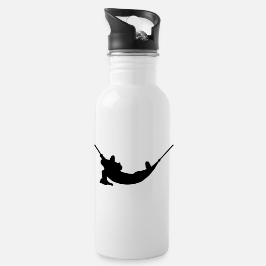 Tourist Mugs & Drinkware - mexicans in hammock - Water Bottle white