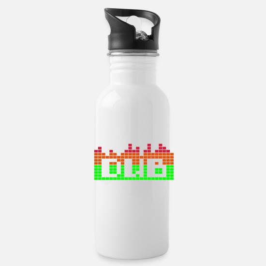 Dub Mugs et récipients - Create memories & T-Shirts dub music - Gourde blanc