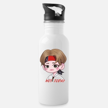 Taehyung Chibi Taehyung Not Today - Water Bottle