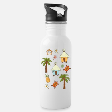Tropical tropics - Water Bottle
